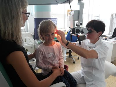 Sluch budoucích školáků vyšetřují na Poliklinice AGEL v Přerově